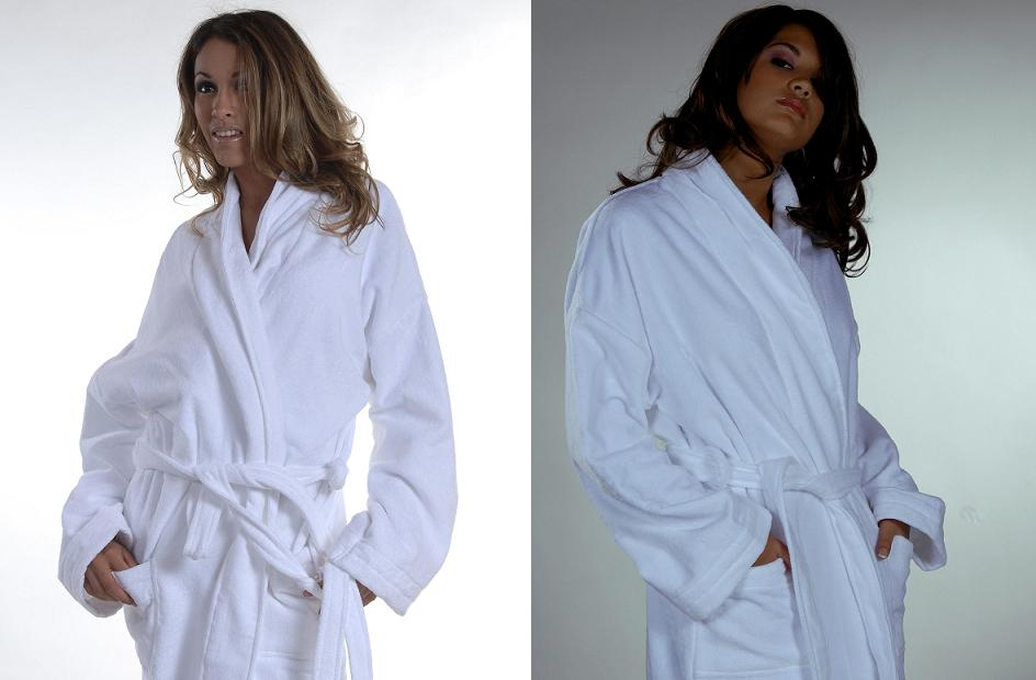 Gown Long Sleeve Toweling