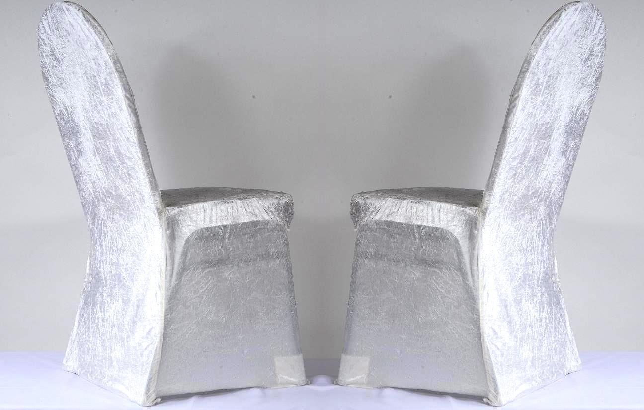 Chair Covers Stretch Velvet